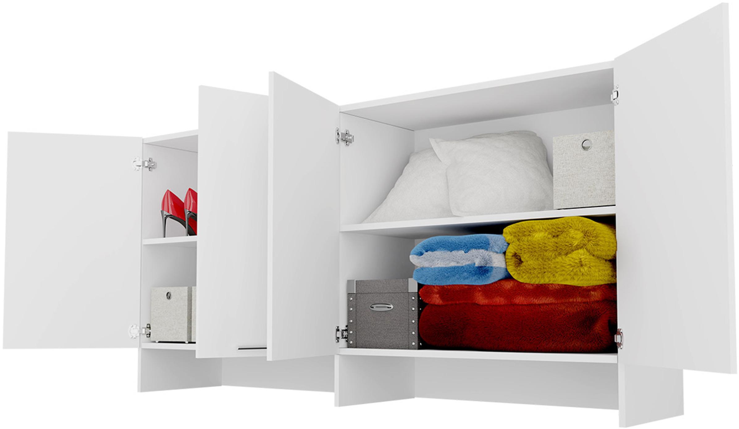 DIG-NET Lenart Nadstavec pre sklápaciu posteľ, Concept PRO CP-11 FARBA: Biela