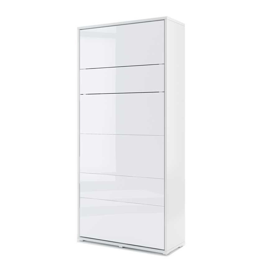 DIG-NET Lenart Sklápacia posteľ BED CONCEPT BC-03p FARBA: biely lesk
