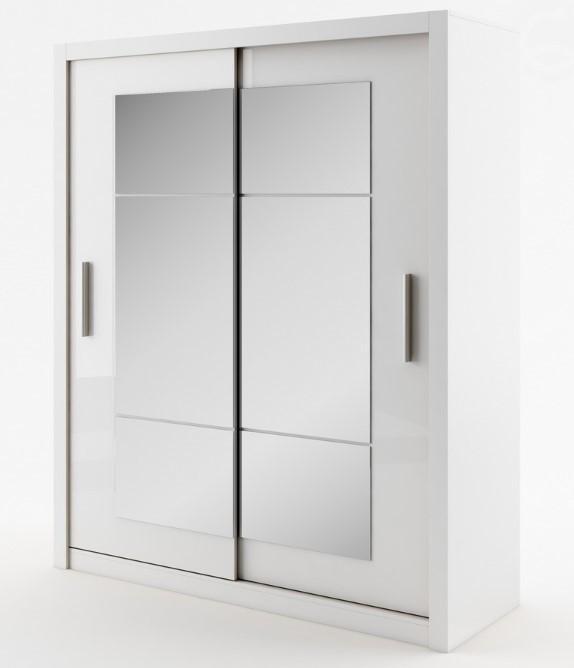 Dig-net nábytok Šatníková skriňa Idea ID-02 Farba: Sivá