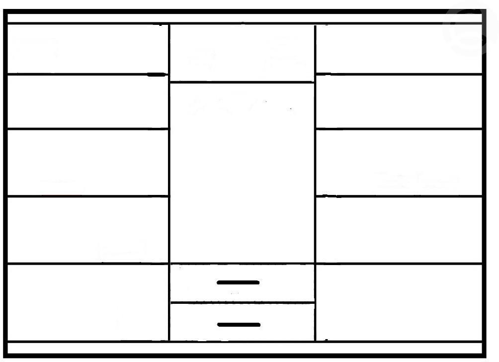Dig-net nábytok Šatníková skriňa Idea ID-11