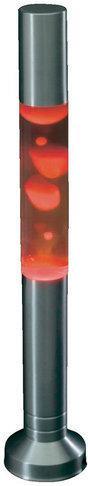 Dizajnová lávová lampa 58 cm, červená
