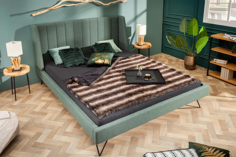 Dizajnová posteľ Phoenix 160 x 200 cm zelená