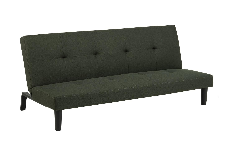 Dizajnová rozkladacia sedačka Damia 179 cm zelená