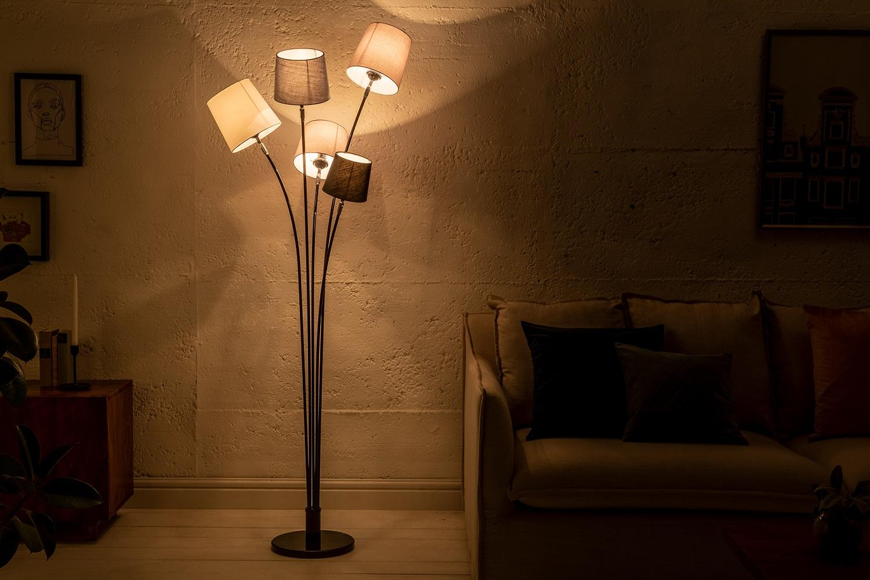 Dizajnová stojanová lampa Shadow 176 cm