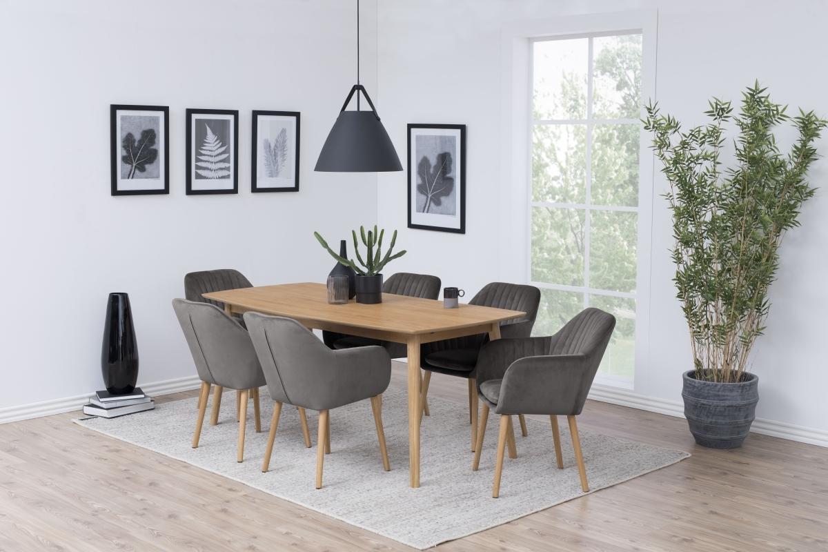 Dizajnová stolička Nashira, tmavo šedá VIC - Skladom na SK - RP