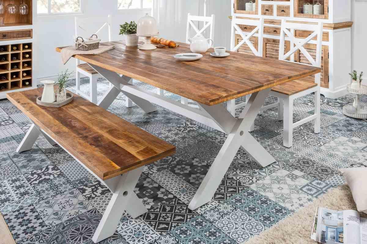 Dizajnový jedálenský stôl Rodney 200cm mango