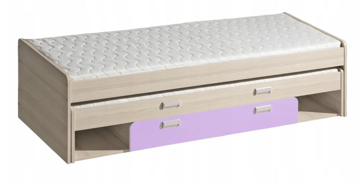 DL Detská posteľ s prístelkou LUCAS L16 Farba: Fialová