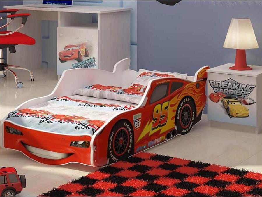 DO Detská posteľ auto McQueen 160x80