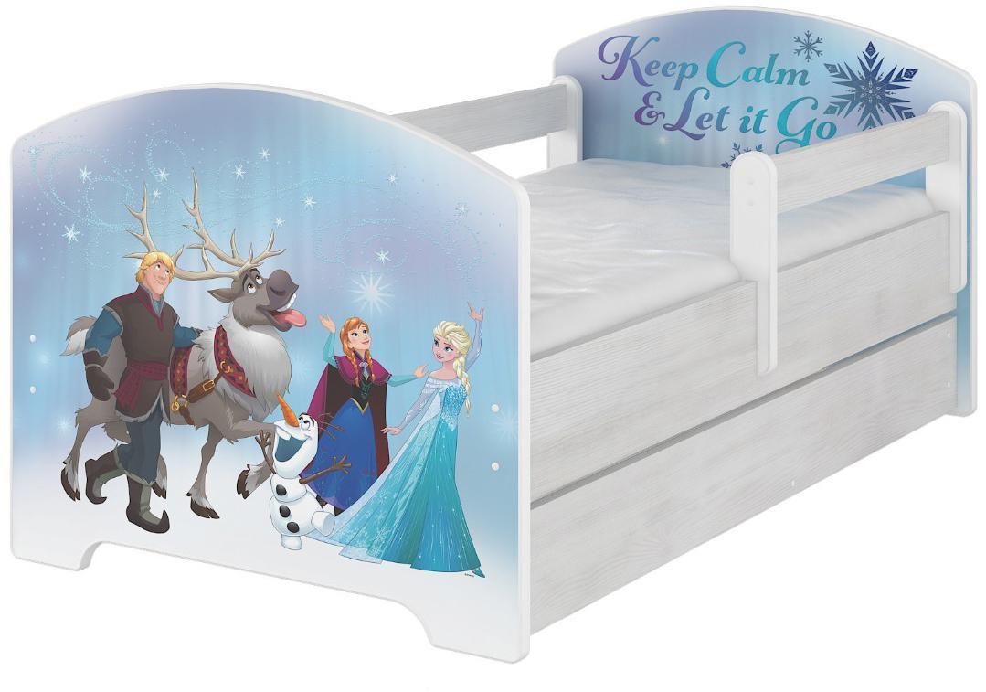 DO Detská posteľ Frozen Disney Variant rozmer lôžka: 140x70