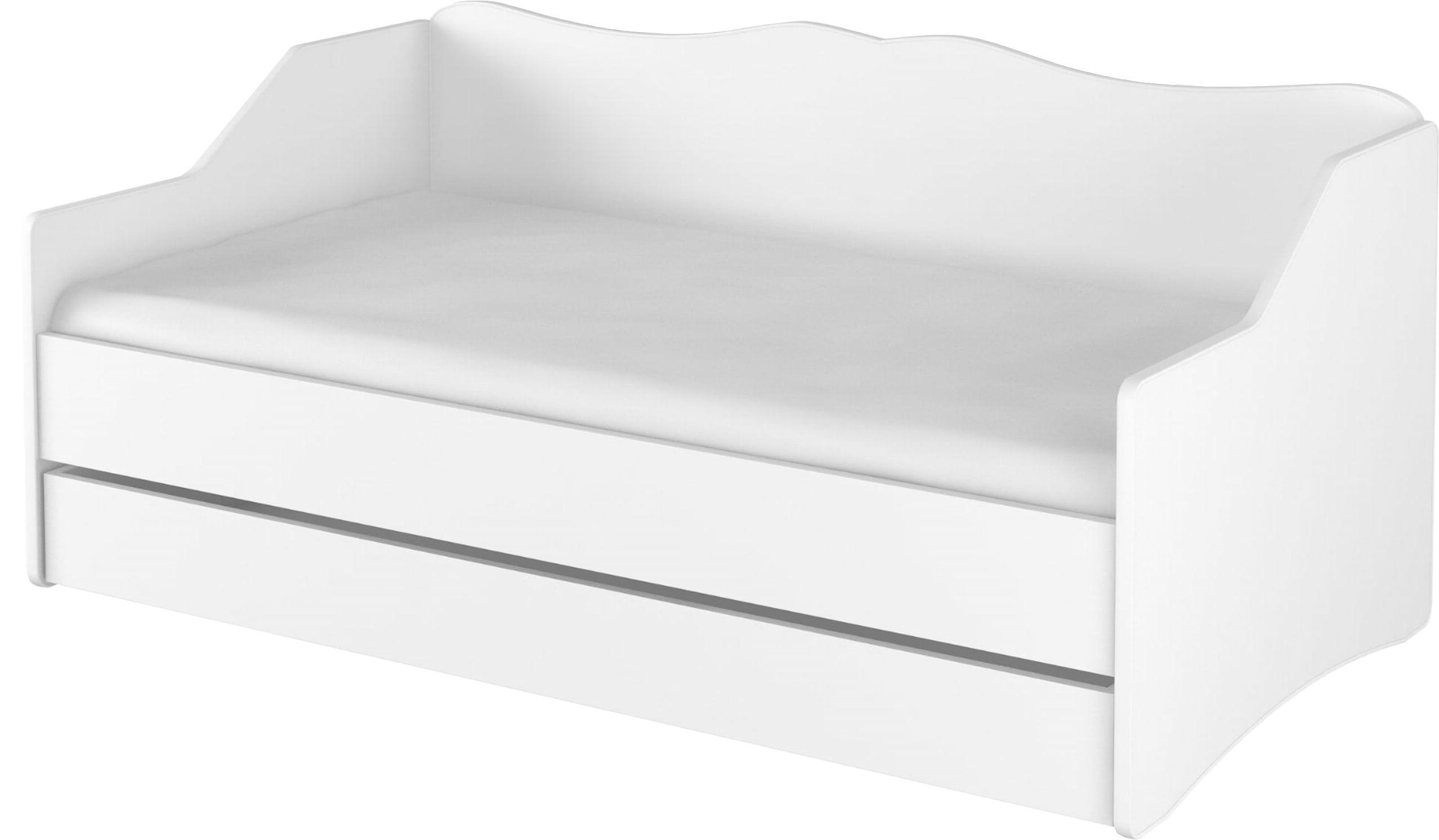 DO Detská posteľ Lulu 160x80 - biela