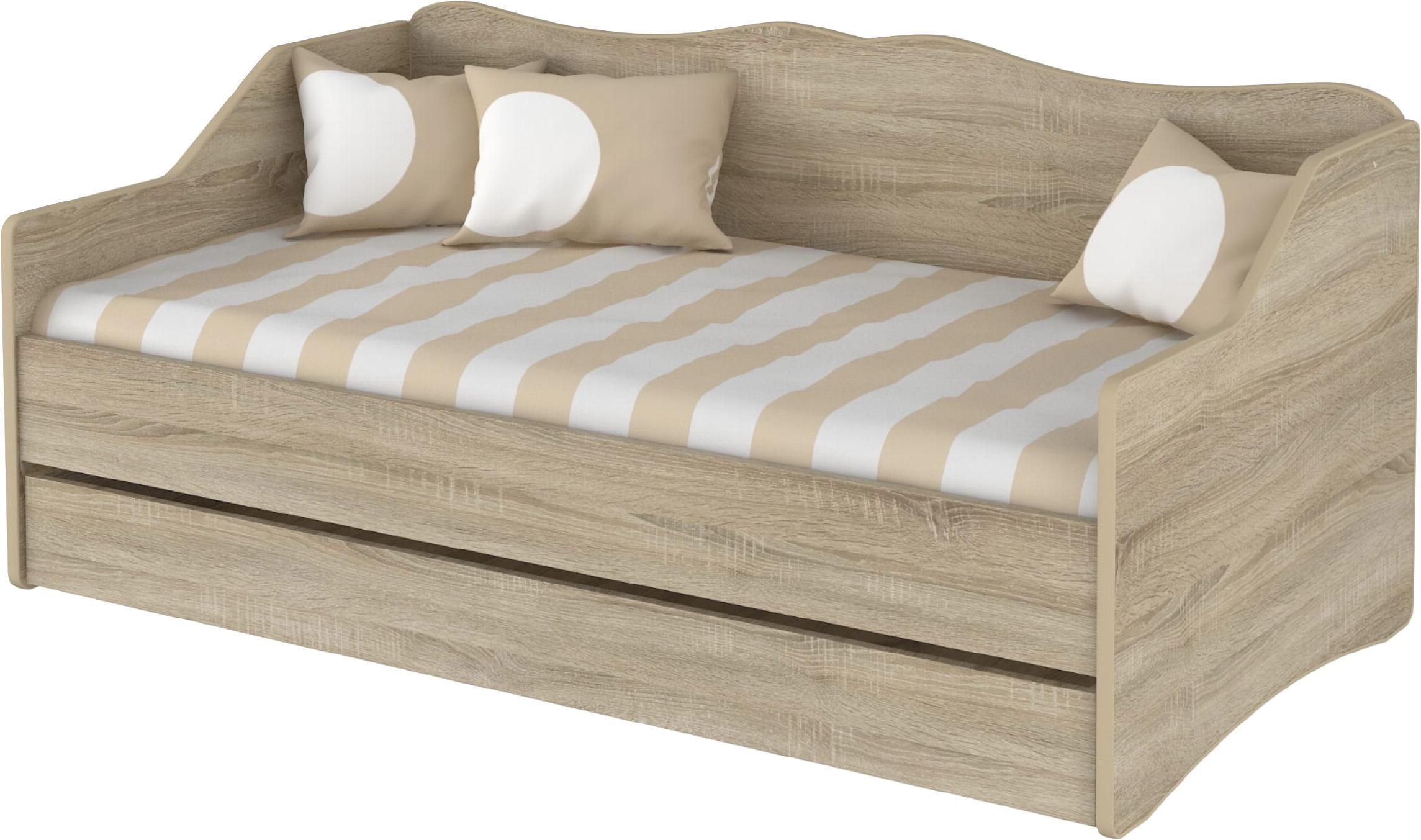 DO Detská posteľ Lulu 160x80 - dub sonoma