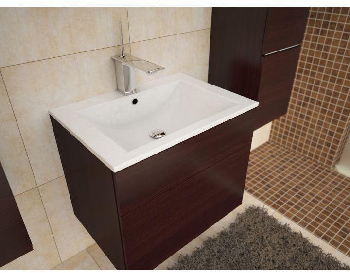 Dolomitové umývadlo MASON biela Tempo Kondela