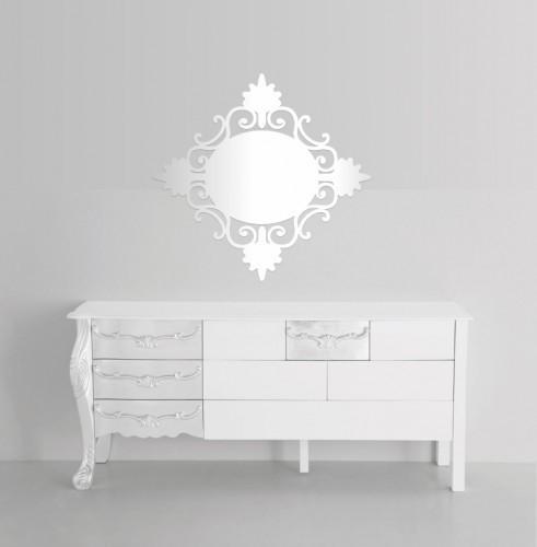 DomTextilu Dekoračné zrkadlo na stenu 8432