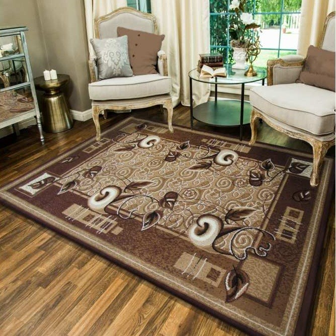 DomTextilu Hnedý kuchynský koberec 12941-126597