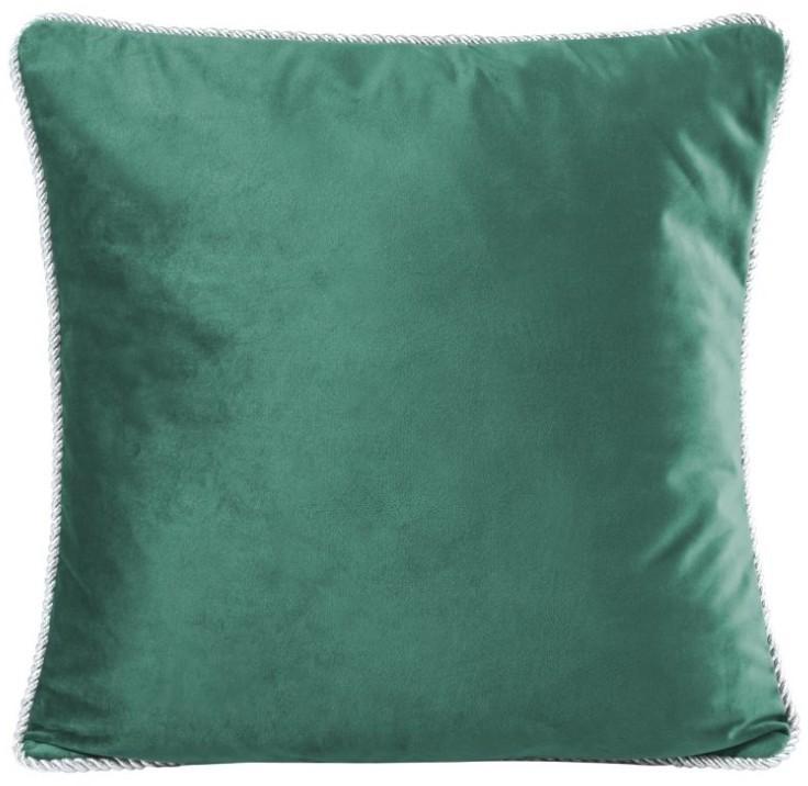 DomTextilu Jednofarebné obliečky na vankúše tmavo zelené 45x45 cm 11541-104549