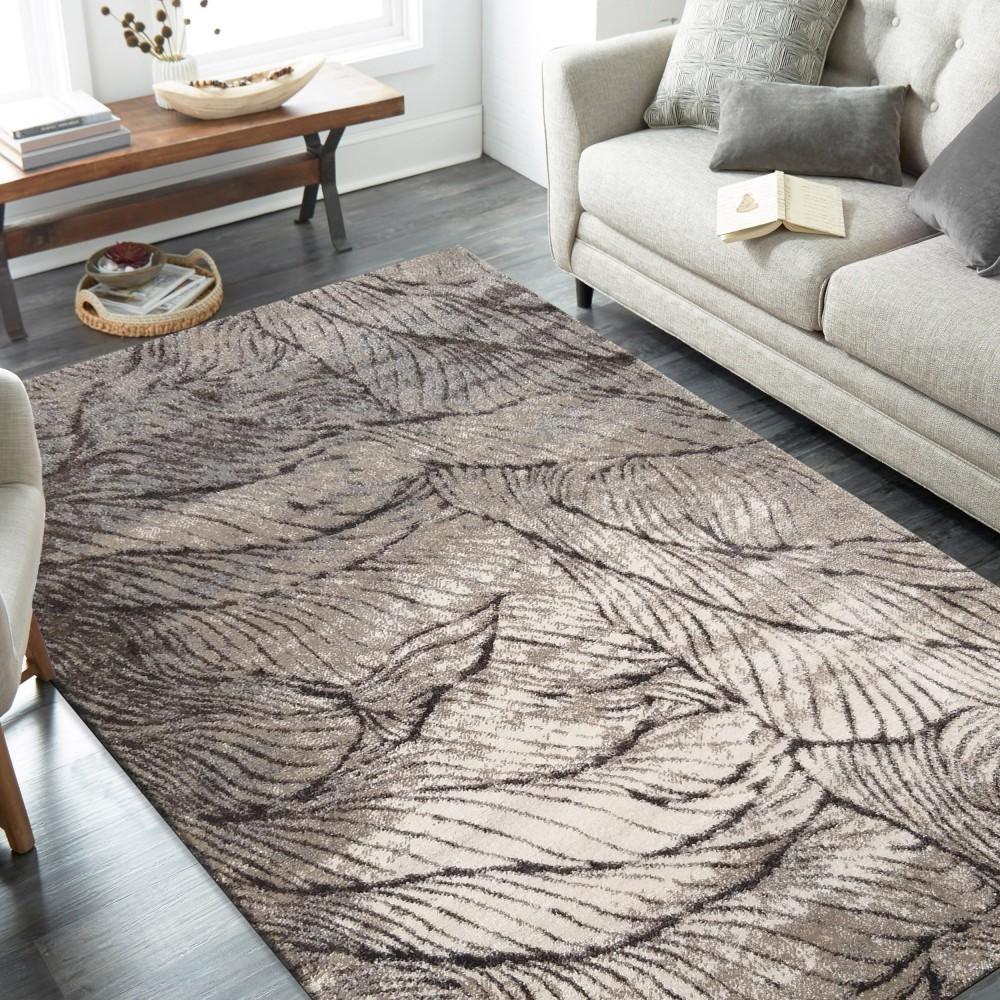 DomTextilu Nádherný koberec s motívom pripomínajúcim jesenné lístie 44527-208196