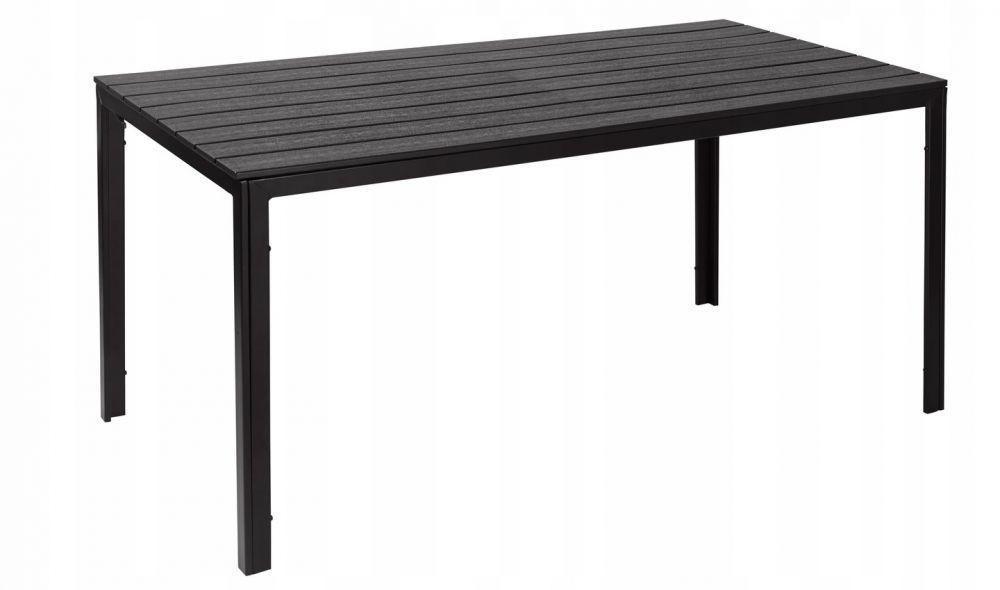 DomTextilu Veľký záhradný stôl HNEDÝ 45240