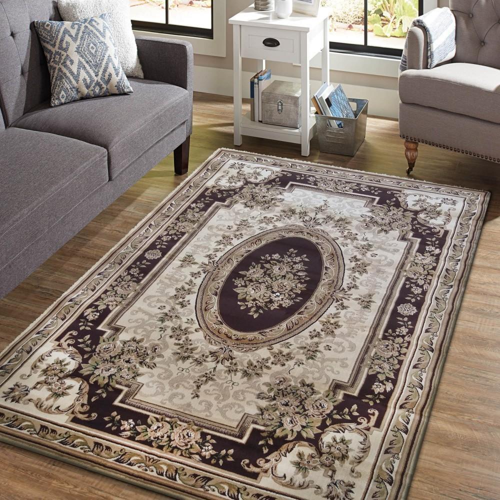 DomTextilu Vintage koberec v krásnej hnedej farbe 25348-149471
