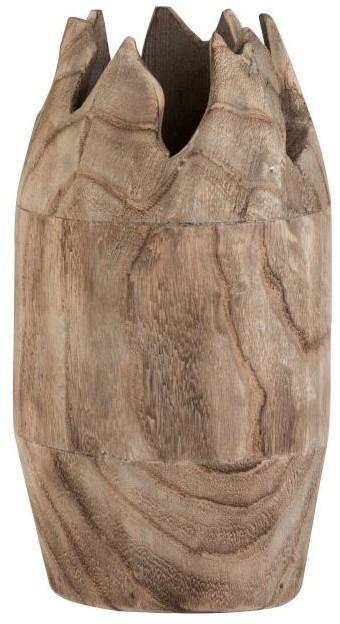 Drevená dekoračné váza Ermi - ∅ 18 * 35cm