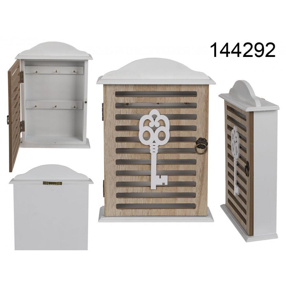 Drevená skrinka na kľúče Kemi 4292, 26 cm