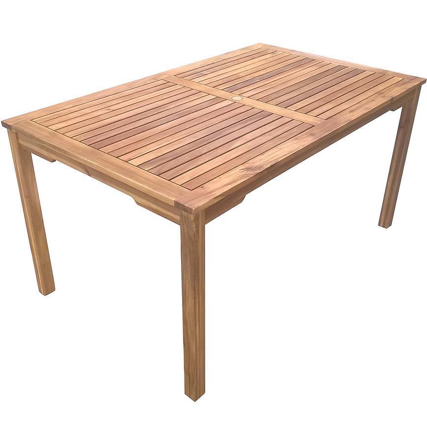 Drevený obdĺžnikový stôl 150x90x75 cm