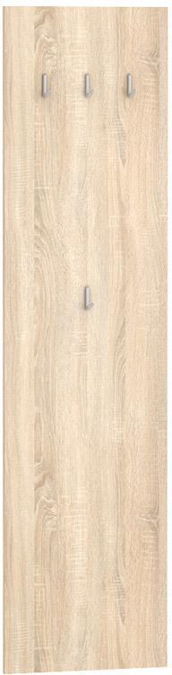 DREVONA03 Vešiakový panel dub bardolíno BASIC VP 50