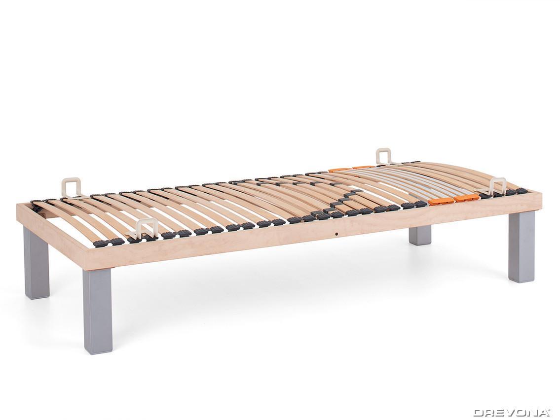 DREVONA05 Lamelová posteľ 80x200 natur SKELETON