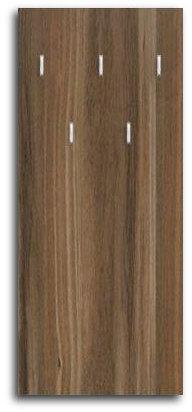DREVONA09 Nástenný vešiakový panel orech rockpile RP-CH-15