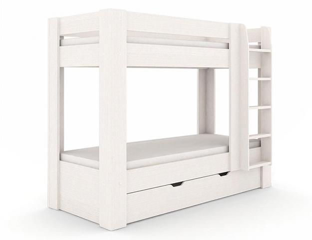 DREVONA09 Poschodová posteľ navarra REA PIKACHU, pravá