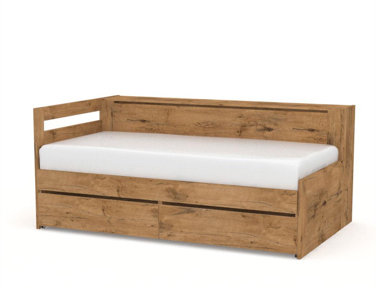 DREVONA09 Rozkladacia posteľ REA CROBAT dub lancelot