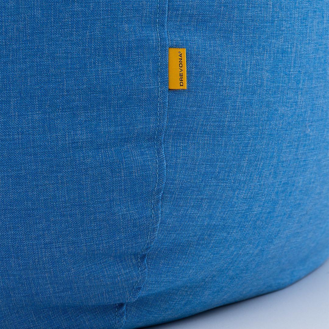 DREVONA09 Sedací vak modrý nepremokavý DOMI, Texas blue