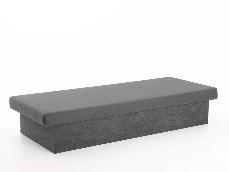 DREVONA31 Váľanda šedá molitanová JANA, Vento X81, Grey, 195x80