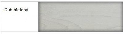Drewmax Komoda - masív KD356 / dub Farba: Dub bielený