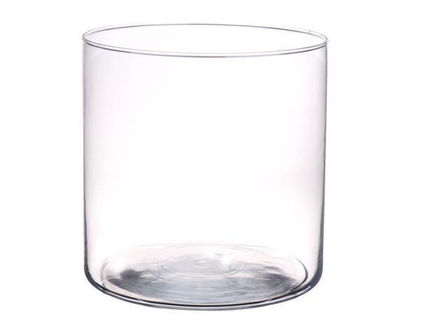 DUIF Sklenená váza LUCILLE 19cm
