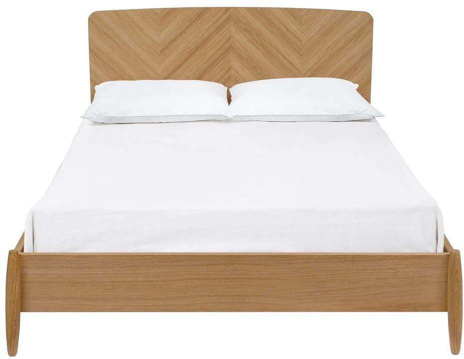 Dvojlôžková posteľ Woodman Farsta Herringbone, 180 × 200 cm