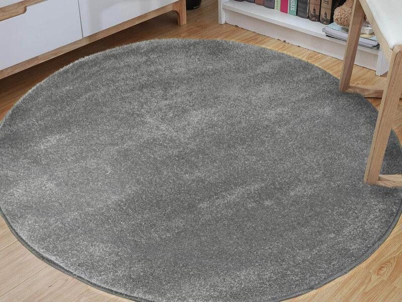 DY Okrúhly koberec Lora Grey Rozmer: 100 x 100 cm