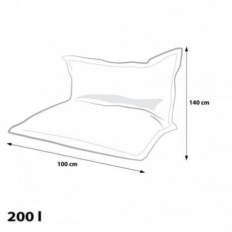 EF4015 Ecopuf Sedací vankúš Ecopuf - Pillow MODERN KIDS polyester DG32/NC5