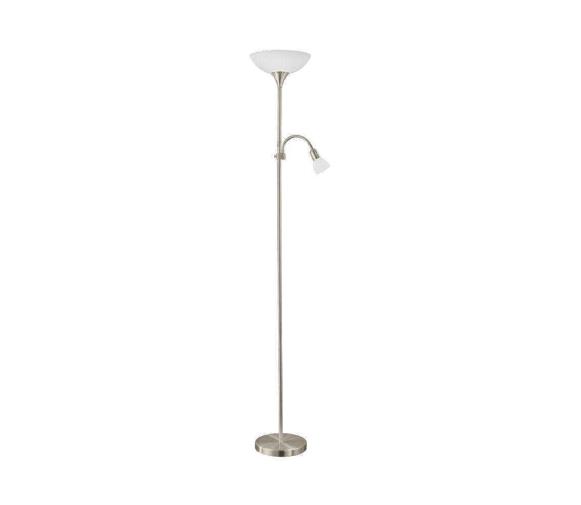 EGLO 93207 - LED Stojacia lampa UP 5 1xE27/7W LED + 1xE14/4W LED
