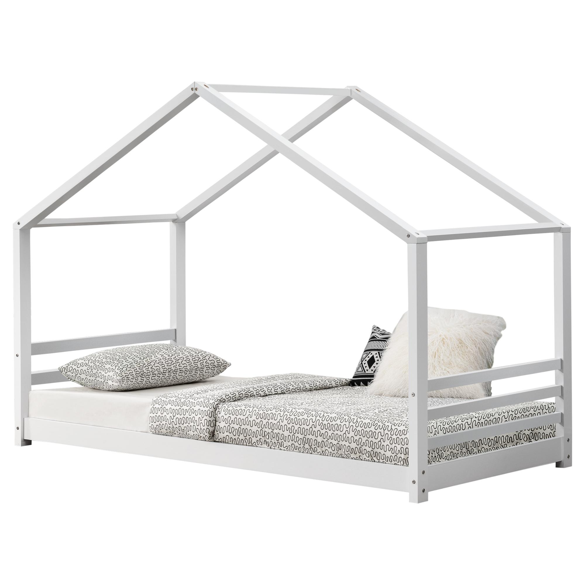 [en.casa] Detská posteľ AAKB-8693 biela 90x200 cm