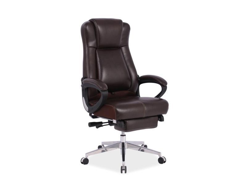 Eshopist Kancelárska stolička PRESIDENT hnedá