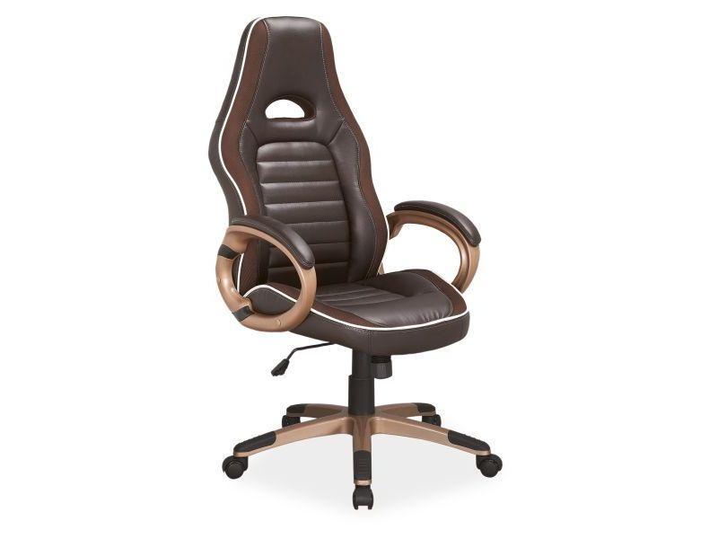 Eshopist Kancelárska stolička Q-150 hnedá
