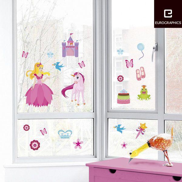 Eurographics Nálepky na sklo - Fairy Tale 25x70cm