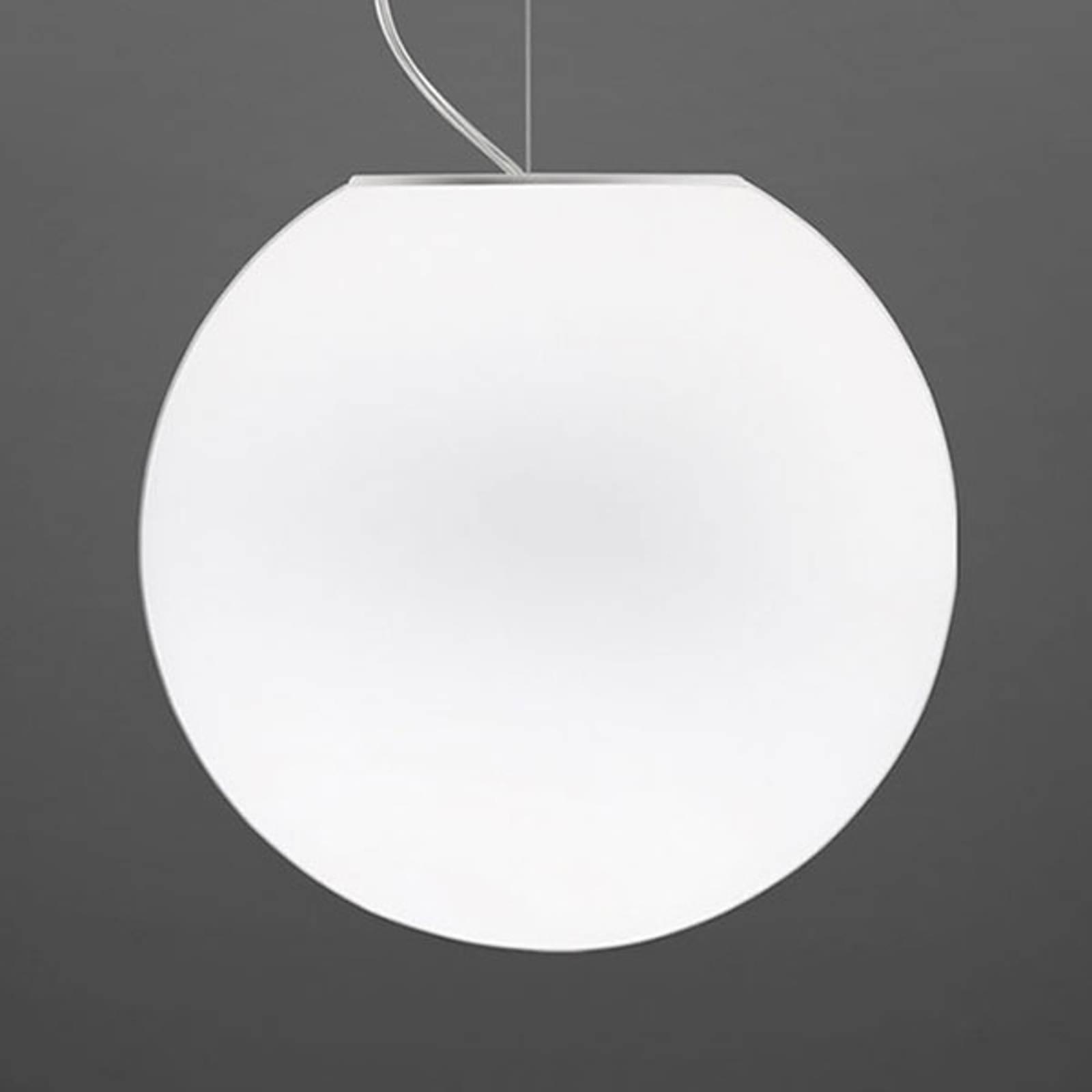 Fabbian Fabbian Lumi Sfera sklenená závesná lampa, Ø 40cm