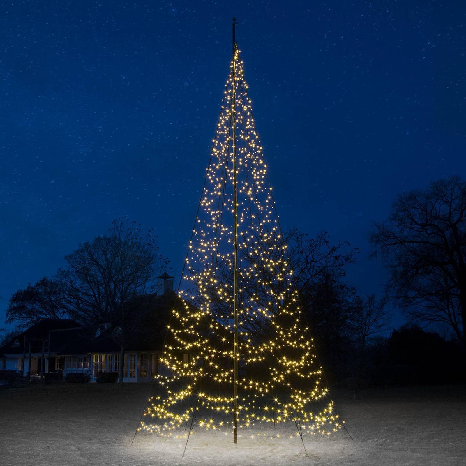 FAIRYBELL Fairybell® vianočný stromček, 8 m, 1500 LED
