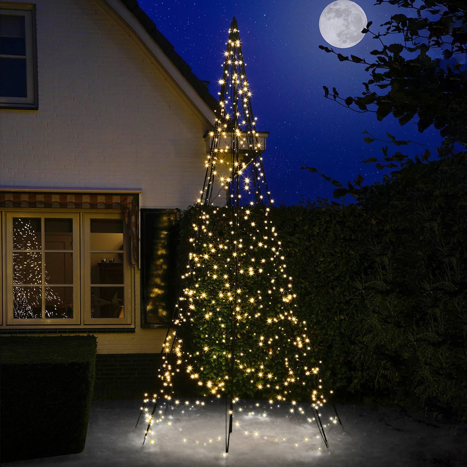 FAIRYBELL Vianočný stromček Fairybell® so stožiarom, 4 m