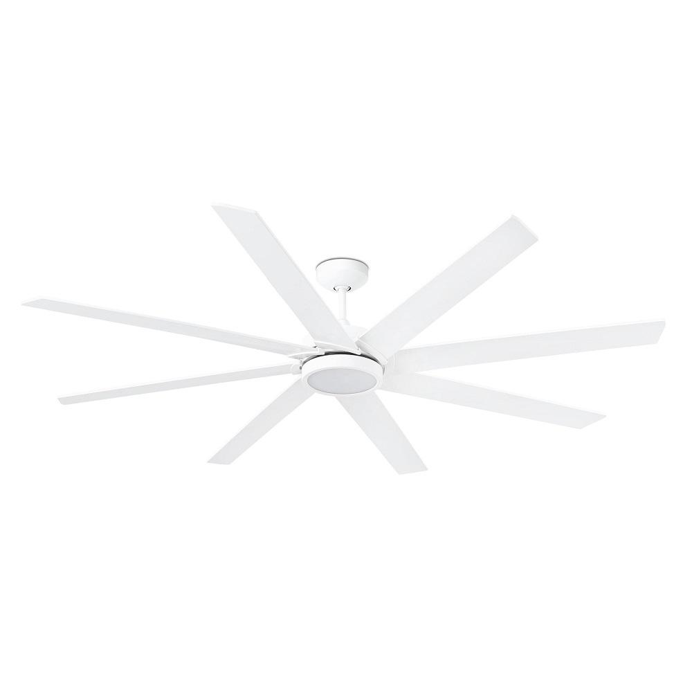 """FARO CENTURY LED 33553 65"""" biela/biela Reverzný stropný ventilátor"""