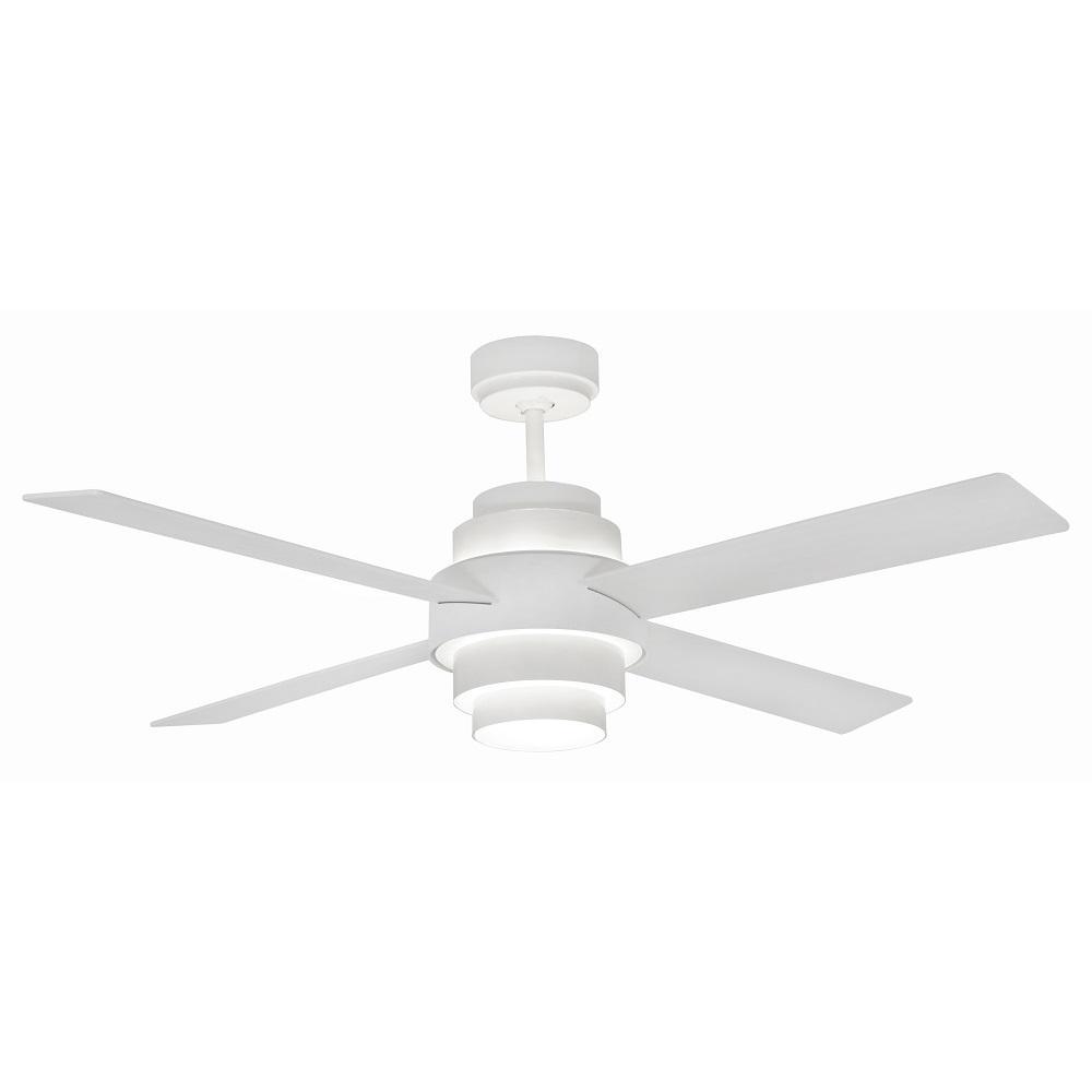 """FARO DISC FAN LED 33397 52"""" biela/biela Reverzný stropný ventilátor"""