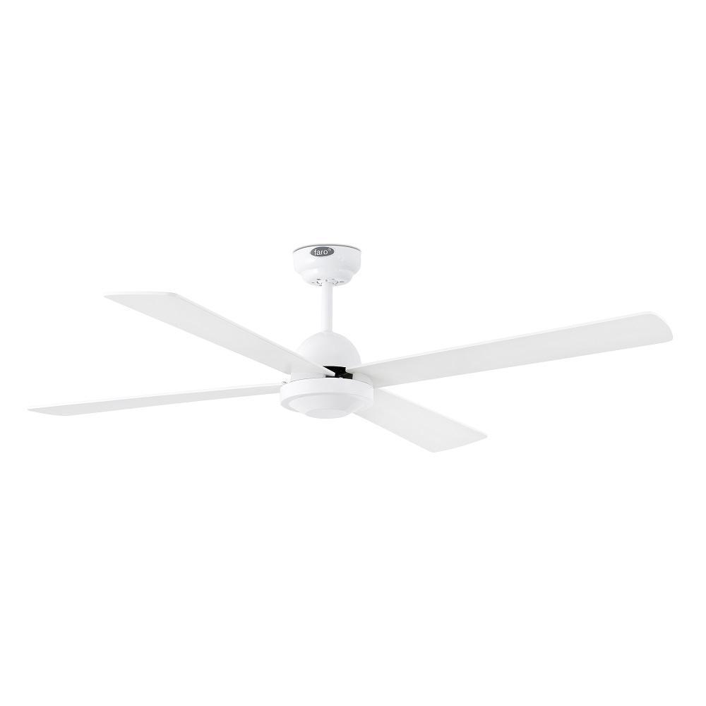 """FARO IBIZA 33284 52"""" biela/biela Reverzný stropný ventilátor"""
