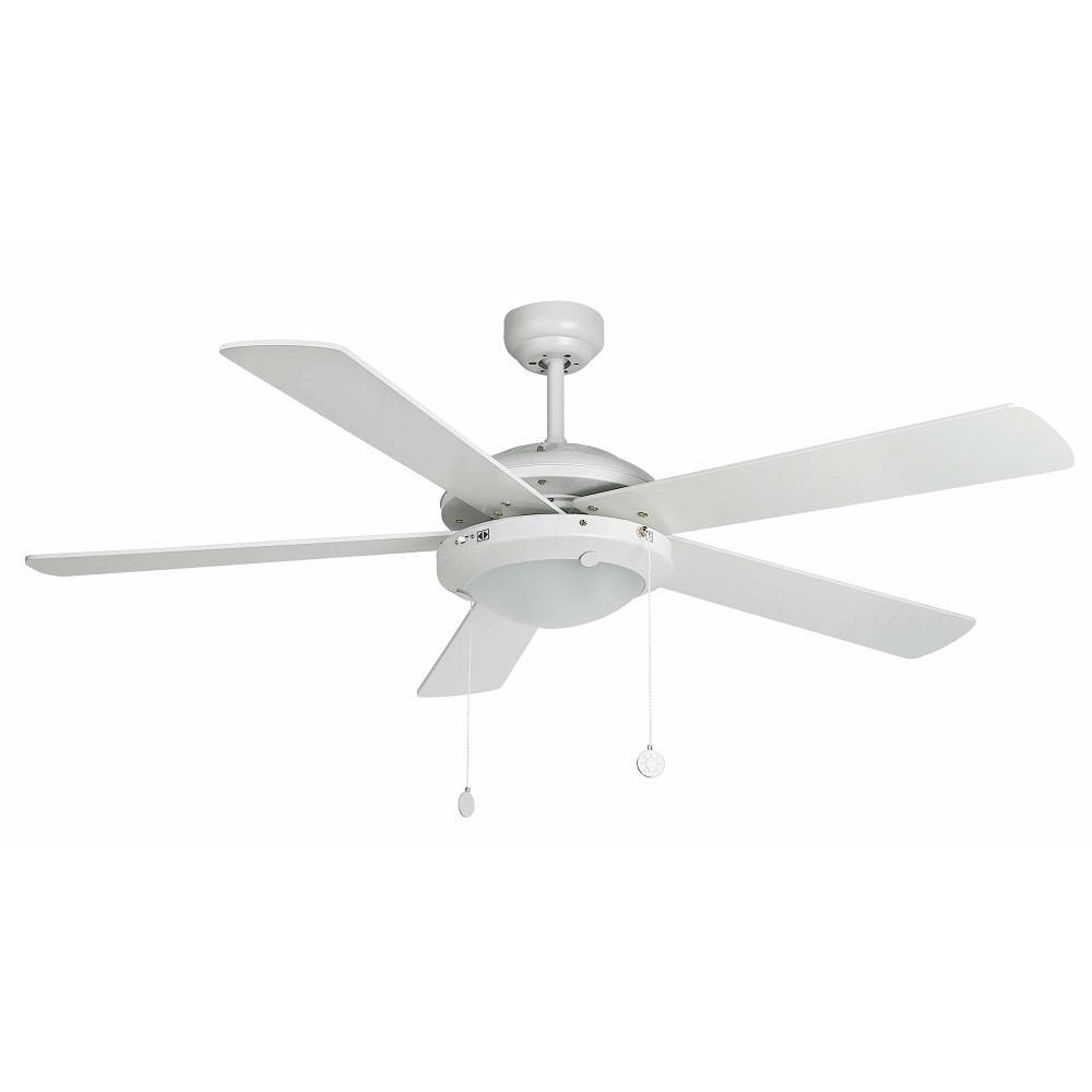 """FARO MANILA 33190 52"""" biela/biela/javor Reverzný stropný ventilátor"""