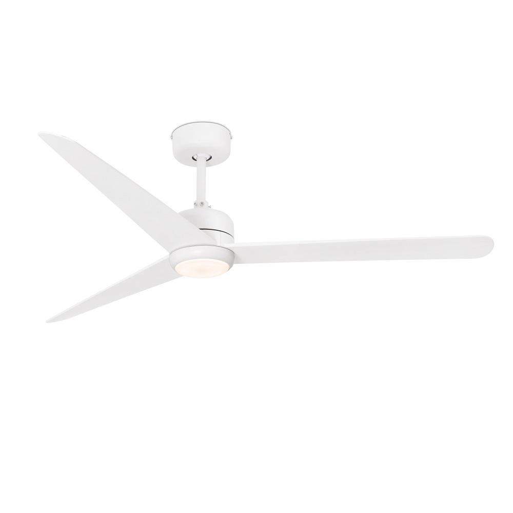 """FARO NU LED 33722 52"""" matná biela/matná biela Reverzný stropný ventilátor"""